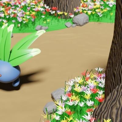 render-oddish-pokemon